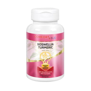 ComfortAble Boswellia Turmeric Complex 60ct by Life Time Nutritional Specialties