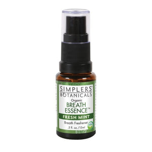 Fresh Mint Breath Essence Spray Fresh Mint, 15 ml by Simplers Botanicals