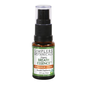 Orange Chai Breath Essence Spray Orange Chai, 15 ml by Simplers Botanicals
