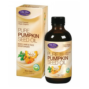 Pure Pumpkin Seed Oil Virgin Organic 4 oz by Life-Flo