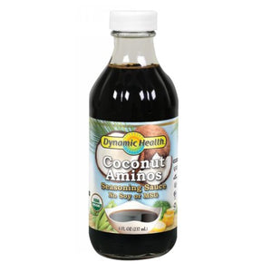 Coconut Aminos Certified Organic 8 Oz by Dynamic Health Laboratories