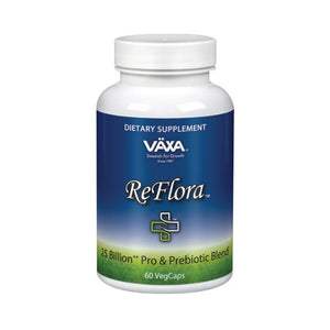 ReFlora Probiotic+ 60ct by Vaxa