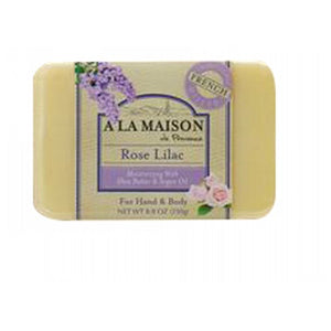 Bar Soap Rose Lilac 8.8 Oz by A La Maison (2590286807125)