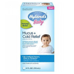 Baby Mucus & Cold Relief 4 Oz by Hylands