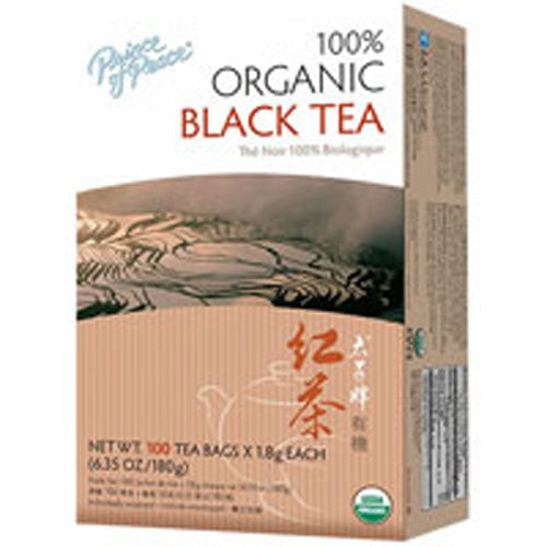 Organic Black Tea 20 Count by Prince Of Peace