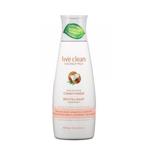 Coconut Milk Moisturizing Conditioner 12 Oz by Live Clean (2587749941333)