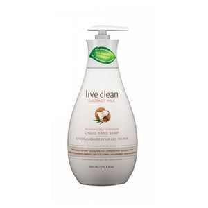 Liquid Hand Soap Coconut 17 Oz by Live Clean (2590289133653)