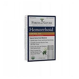 Hemorrhoid Control Extra Strength 5 ml by Forces of Nature (2590289461333)