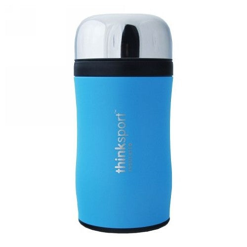 Insulated Food Container Blue 12 Oz by Thinkbaby