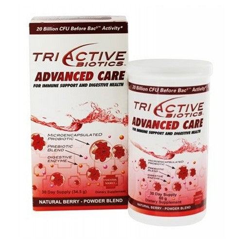 Triactive Biotics Advanced Care 34.5 Grams by Essential Source