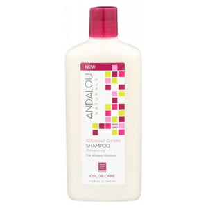 1000 Roses Complex Color Care Shampoo 11.5 Oz by Andalou Naturals (2590290018389)
