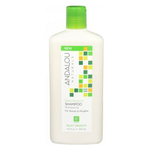 Exotic Marula Oil Silky Smooth Shampoo 11.5 Oz by Andalou Naturals (2590290116693)