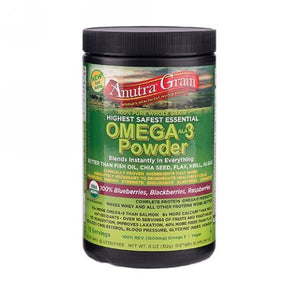 Omega-3 Powder Peanut Butter 8.5 Oz by Anutra