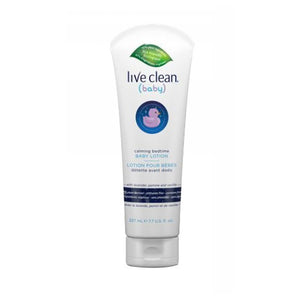 Calming Bedtime Baby Lotion 7.7 Oz by Live Clean (2590290509909)