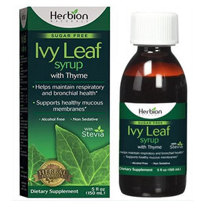 Ivy Leaf Cough Syrup with Thyme 5 Oz by Herbion (2590290673749)