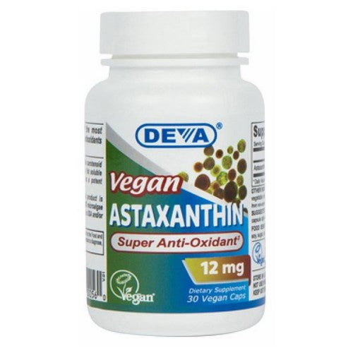Astaxanthin 30 Veg Caps by Deva Vegan Vitamins