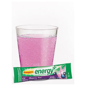 Emergen-C Energy Plus Blueberry Acai 18 Count by Alacer (2590292967509)