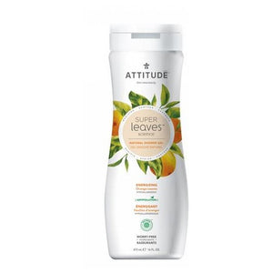 Natural Shower Gel Energizing 16 Oz by Attitude (2587762688085)