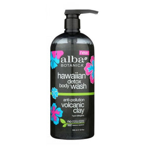 Hawaiian Detox Body Wash 32 Oz by Alba Botanica