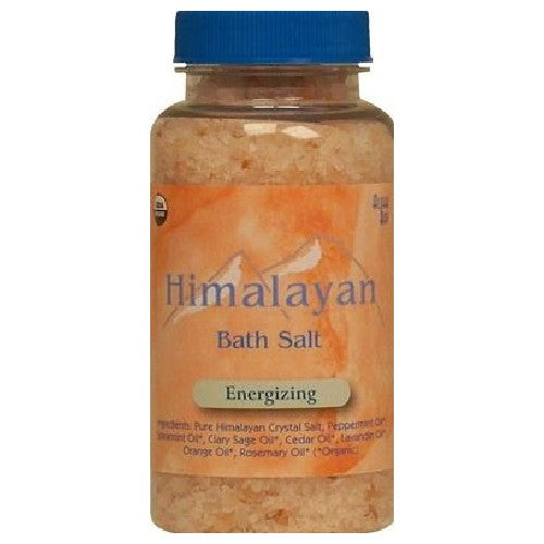 Organic Bath Salt Energizing 6 Oz by Aloha Bay