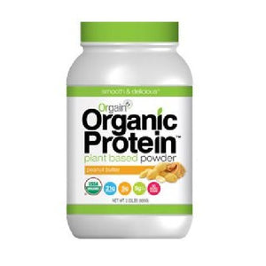 Organic Plant Based Protein Powder Creamy Chocolate Fudge 1.02 lbs by Orgain