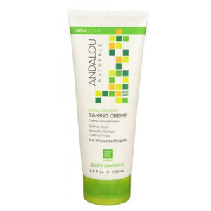 Exotic Marula Oil Silky Smooth Taming Creme 6.8 Oz by Andalou Naturals (2590295425109)