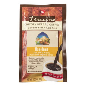 Herbal Coffee Hazelnut 1.05 Oz by Teeccino