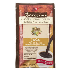 Herbal Coffee Java 1.05 Oz by Teeccino