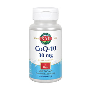 CoQ10 60 Softgels by Kal