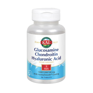 Glucosamine Chondroitin Hyaluronic Acid 90 Tabs by Kal