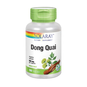 Dong Quai 180 Veg Caps by Solaray