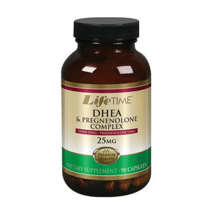 DHEA Pregnenolone 90 Caps by LifeTime