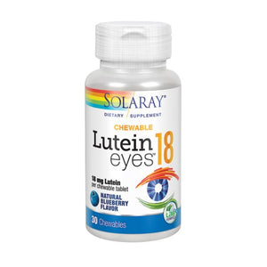 Lutein Eyes 30 Chews by Solaray (2590298374229)