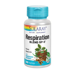 Respiration Blend SP-3 100 Veg Caps by Solaray (2590298669141)