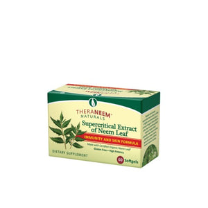 Supercritical Neem Leaf Extract Fragrance Free 60 Softgels by Organix South