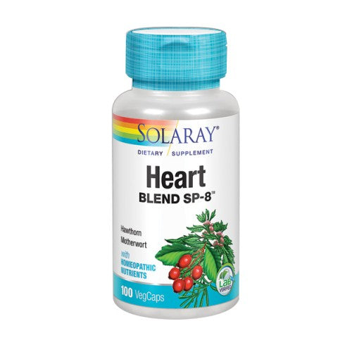 Heart Blend SP-8 100 Veg Caps by Solaray