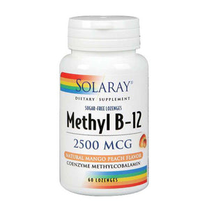Methyl B-12 Lemon 60 Count by Solaray
