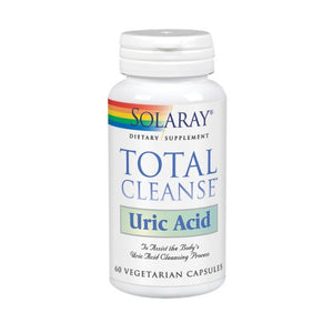 Total Cleanse Uric Acid 60 Veg Caps by Solaray