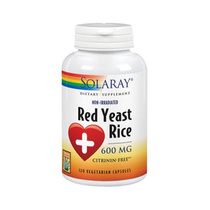 Red Yeast Rice 120 Veg Caps by Solaray (2590301913173)