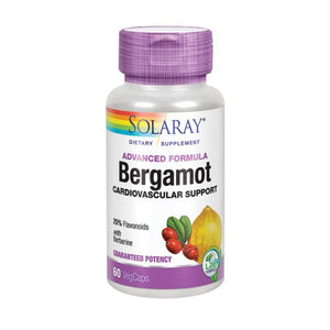 Advanced Formula Bergamot 60 Veg Caps by Solaray (2590302339157)