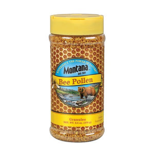 Bee Pollen Granules 10 Oz by Montana Big Sky
