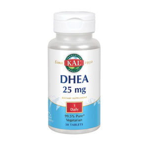 DHEA 60 Tabs by Kal (2590303813717)