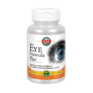 Eye Formula Plus 60 Tabs by Kal (2590303912021)