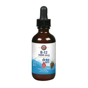 B12 DropIns Vegetarian Drops Grape 2 Oz by Kal