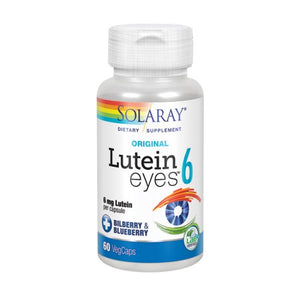 Original Lutein Eyes 60 Veg Caps by Solaray