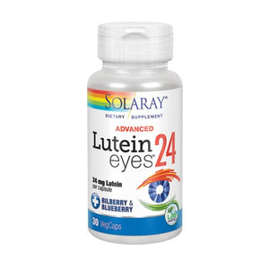 Lutein Eyes Advanced 30 Veg Caps by Solaray (2590306009173)