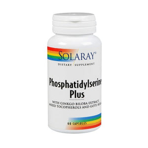 Phosphatidylserine Plus 60 Caps by Solaray (2590306205781)
