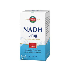 NADH 30 Tabs by Kal