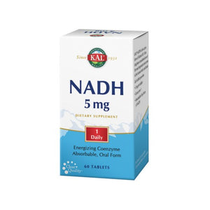 NADH 60 Tabs by Kal