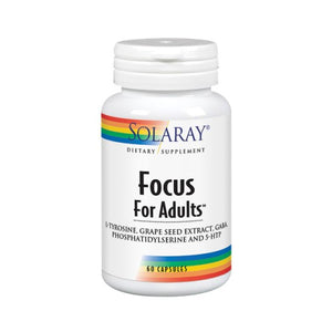 Focus for Adults 60 Veg Caps by Solaray